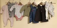 Baby Girls Bundle Of Clothing Age 0-3 Next Mothercare Tu <D2331