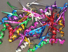 Metallic Coloured Twist Ties Perfect for Cello Party Sweet Bags - 7x Colours