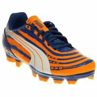 Puma EvoSpeed 5.2 Graphic Firm Ground Cleats Junior  Casual Soccer Cleated