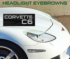 CORVETTE C6 z06 zr1 Headlamp eyebrow pad alternative morimoto headlight covering