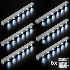 6x Réglette lumineuse à 6 LEDs avec capteur de mouvement sous meuble détecteur