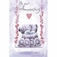 On Our Anniversary  - Medium -  Tatty Teddy Me to You Card