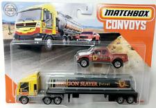 Matchbox Convoys MBX Cabover & Tanker Badlander Dragon Slayer Hotwheels Fm150