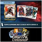 Topps Marvel Collect 2021 Topps Supreme Series 3 Red Blue Green Set of 33