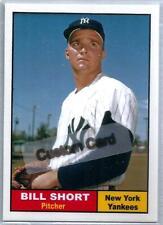 BILL SHORT NEW YORK YANKEES 1961 STYLE CUSTOM MADE BASEBALL CARD BLANK BACK
