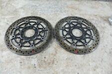 03 Suzuki SV 1000 SV1000 front brake rotors disks
