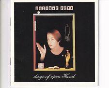 CD SUZANNE VEGAdays of open handUS 1990 EX+ (B5656)