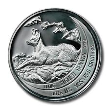 Andorra Endangered Wildlife Chamois 10 Diners 1992 Proof Silver Crown
