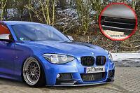 Spoilerschwert Frontspoiler ABS für BMW 1er F20 F21 M-Paket ABE schwarz glänzend