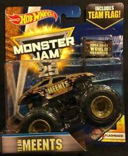 "2017 Hot Wheels Monster Jam ""Team Meents"" Includes Team Flag, Ships World Wide"