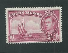 CAYMAN ISLANDS # 110 MNH SCHOONER