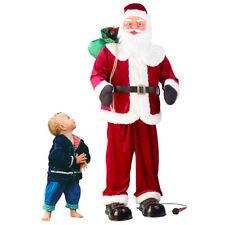 infactory Singender und tanzender XXL-Weihnachtsmann mit Karaoke, 160 cm