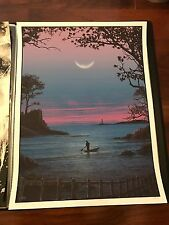 JC Richard Art Poster Print Mondo Rising to Sleep Obey Giant Olly Moss STORM ED.