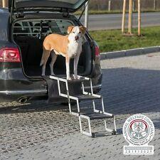 Hunderampe Trixie Falttreppe Auto Einstiegshilfe klappbar TPR Alu bis 75 kg