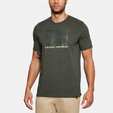 Abbiglimento sportivo da uomo verde Under armour in cotone
