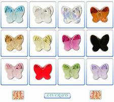 2 Piezas Cristal de Swarovski perlas 5754 Mariposa 10 Mm * colores *