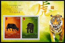 Hong Kong - Chinesische Tierkreiszeichen Block 209 postfrisch 2010 Mi. 1557-1558