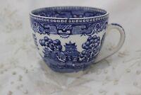 Alfred Meakin Vieux saule  Tasse à thé  Vintage  bleu et blanc