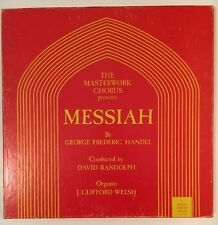 MESSIAH By Handel RANDOLPH Masterwork Chorus ALLEGRO 3LP Box Set