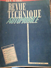 revue technique automobil n109 mai1955 simca monte carlo  vendome pont a mousson