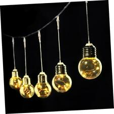 LE Globe LED String Lights, 6m 25 Pcs G45 Clear Bulbs Copper Wire Starry Lights