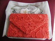 New Floral Lace Ladies Envelope Clutch Bag Evening Party Prom Bridal by KOKO