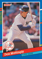Don Mattingly 1991 Donruss   #107 New York Yankees Card