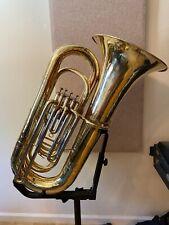 Yamaha YBB-321 Tuba 4/4 BBb Raw Brass Finish 4 Piston Valves