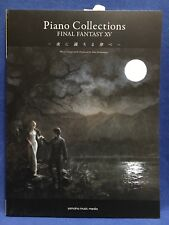 Final Fantasy XV 15 Piano Collections Score Book Official Sheet Music Japan F/S