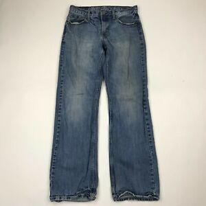 "American Eagle Men Boot Cut Medium Wash Jeans sz 30x34 (Inseam 32"")"