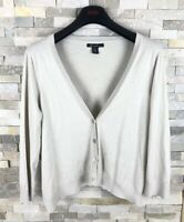 kenneth cole Ladies Size L Cotton Bamboo Blend Cardigan