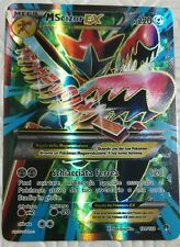 Lotto carte Pokemon MEGA M SCIZOR EX 120/122 XY TURBO CRASH BREAK FULL ART FA Y
