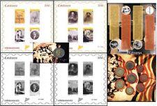 Juego completo sellos y monedas en prueba Cataluña 2016 Catalunya