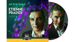 Brand New Magic DVD -  At The Table Live Etienne Pradier  - DVD