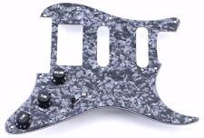 PICKGUARD FENDER STRAT EMG + électronique - grey pearl - HSS - stratocaster