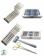 11 pièces Dentaire Implants Implantologie Kit Ostéotomies Hydromel Maillet