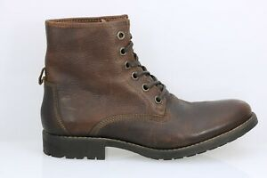 NIB Men's Frank & Oak The Ashbury Leather Work Boot In Brown Sz 10 $145
