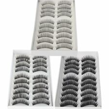 30 Pairs of Natural & Regular Long False Eyelashes Eye Lashes
