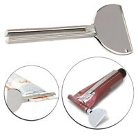 Reusable Tool Roller Toothpaste Squeezer Tube Stainless Steel Key Dispenser Acce