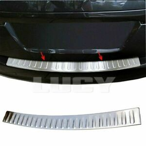 For RENAULT TALISMAN SALOON S.Steel Chrome Rear Bumper Protector 2015+