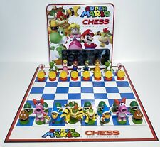 Super Mario Chess Collectors Edition 2009 Complete USAopoly Ships FREE