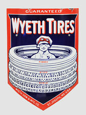 Wyeth Tires High Quality Rectangle Metal Magnet 3 x 4 inches 9413