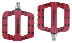 Sealed Bearing Flat/Platform Pedals-With 5 Colours Mountian Road Bicycle Pedals