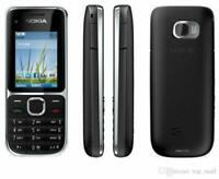 New Condition-Nokia C2-01- Black(Unlocked)Mobile Phone-warranty-return accepted