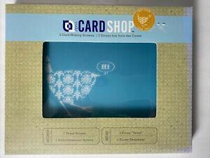 YUDU Card Shop 2 Screens 1 - Tweet Screen & 1 - Embellishments Screen NEW NIB