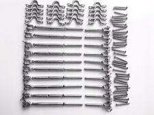 10 Pack 316 Stainless Steel Balustrade Kit Jaw Swage Bottlescrew Wire Rope Kit