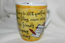 Mug Cup Tasse à café Top Company Secretary Helpful Friendly