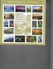 US Stamps 5080 National Parks Sheet