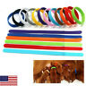 12 Colors Pet Dog Identification ID Collars Puppy Kitten Cat Bands Whelping OCCA