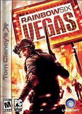 Tom Clancy's Rainbow Six: Vegas Game (PC DVD, 2006) Free Shipping